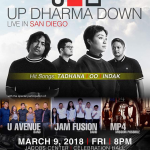 UP Dharma Down Live in San Diego March 9 2018 US Tour