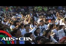 TV Patrol: Higit 16,000 estudyante, lumahok sa 'pinakamalaking' art lesson sa bansa, abs-cbn, art class, art lessons, Philippines, News, Headlines