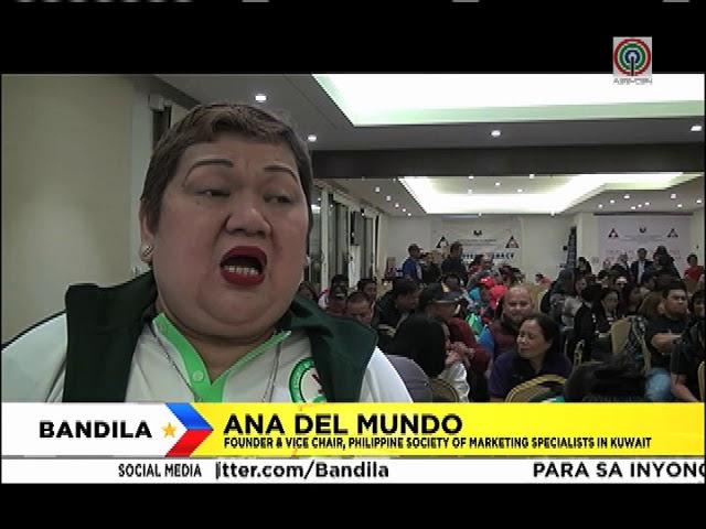 Bandila: Ilang senador, pabor sa partial lifting ng deployment ban sa Kuwait