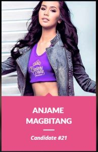 Binibini 21, Anjame Magbitang