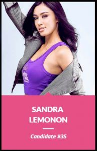 Binibini 35, Sandra Lemonon