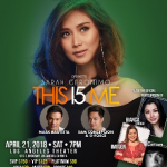 Sarah Geronimo This I5 Me U.S. Tour 2018 Los Angeles April 21, 2018 Buy Your Tickets Now at www.usapang-pinas.com | Call Toll Free at 888.881.1848 | Call or Text at 213.448.4059